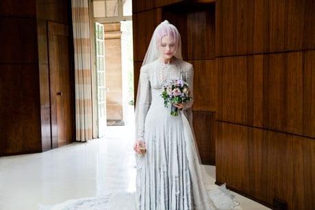 Pale_grey_slashed_chiffon_wedding_dress__designed_by_Gareth_Pugh_and_veil_by_Stephen_Jones_2011._Courtesy_of_Katie_Shillingford._Photo__Amy_Gwatkin
